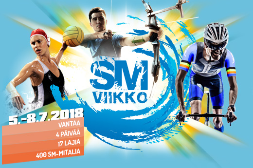 SM Viikko 2018 Schedule is out